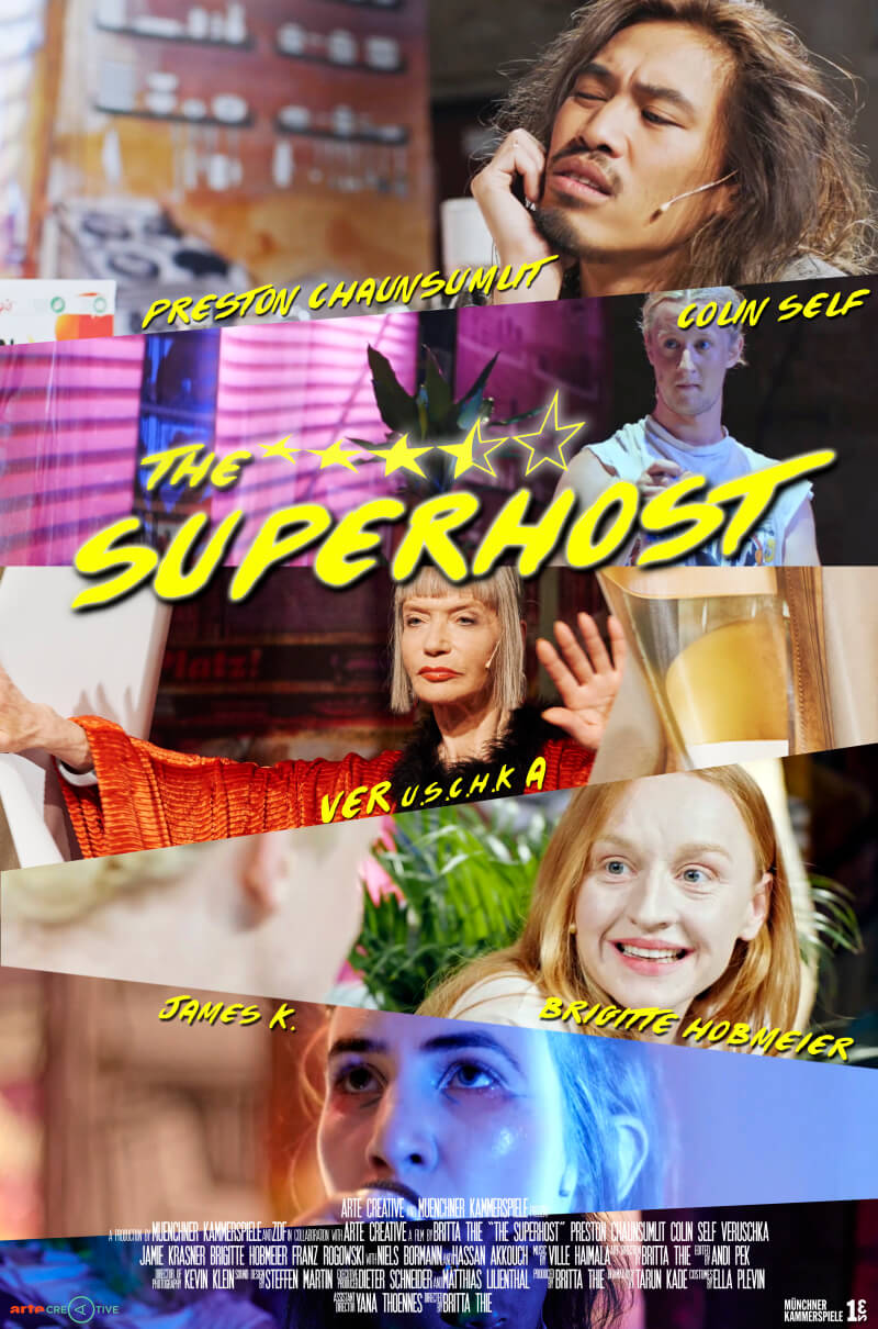 <p>The Superhost directed by Britta Thie and produced by the Münchner Kammerspiele and ZDF in cooperation with ARTE Creative</p>
