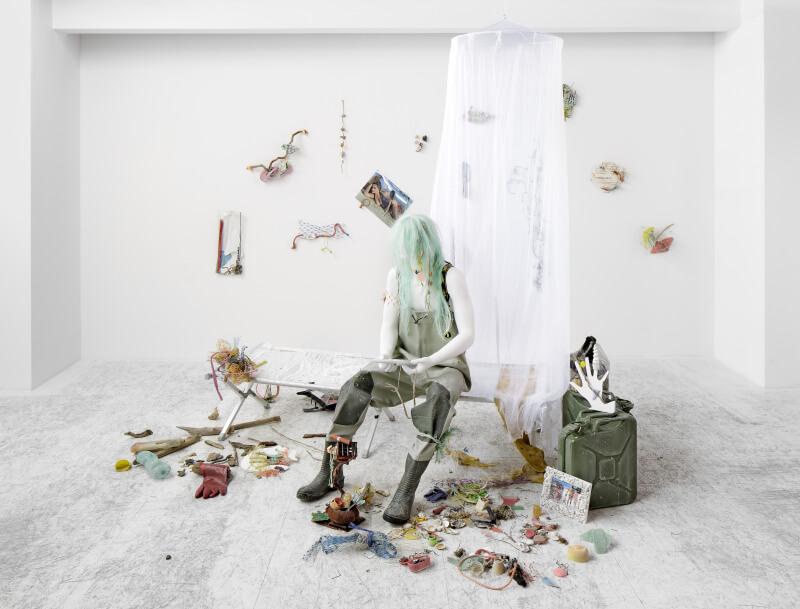 <p>Seastead Figure (Exiled Polypooler), 2015with Daniel Keller</p>